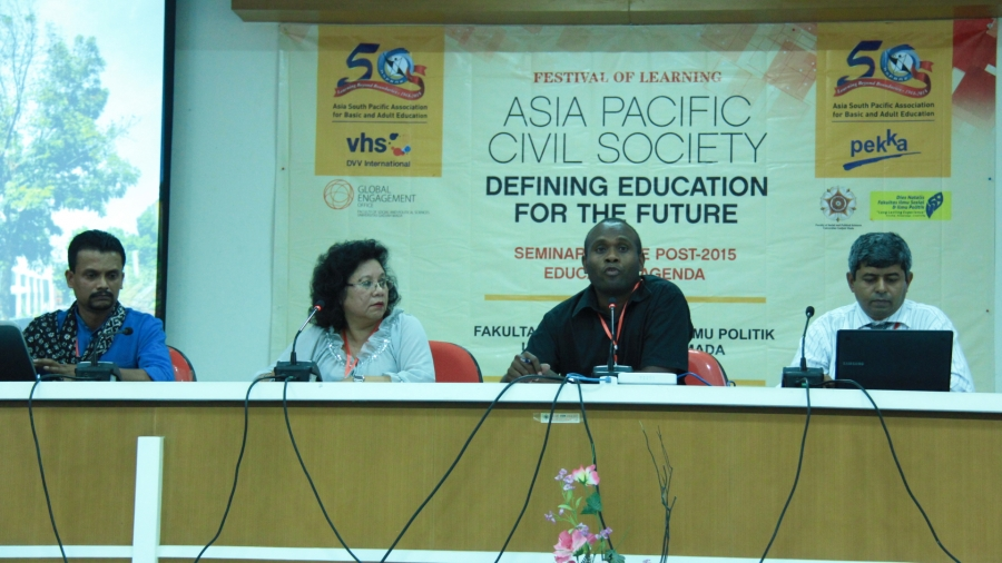 Asia Pacific Civil Society Defining Education for the Future